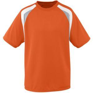 China Customized Fashion Soccer Team Wear Sublimation Jerseys , Red / Blue / Orange on sale