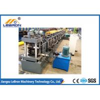 New grey color strong support steel storage rack roll forming machine / metal storage rack making machine