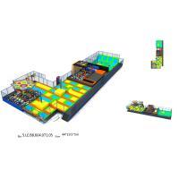 836 M2 Trampoline Attraction Multi Game Indoor Playground Trampoline World