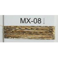 12 micron MX type of metallic  yarn for  embroidery , sparkle yarn metallic