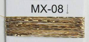 China 12 micron MX type of metallic  yarn for  embroidery , sparkle yarn metallic on sale