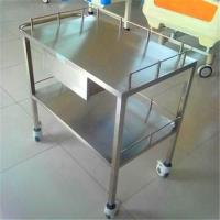 China ISO9001 Hospital Carts On Wheels , H850mm Hospital Laundry Trolley With Drawer on sale