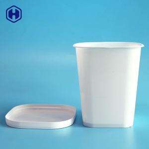 China Food Grade BBQ Rice 89MM IML Plastic Cup Containers on sale