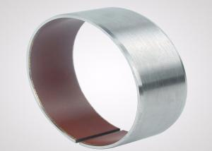 China Stainless Steel DU Backing PTFE DU Dry Bearing For Chemical Industry on sale