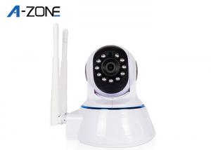 China Indoor Wireless Pan And Tilt Security Cameras Night Vision 64G TF Card Auto IR Control on sale
