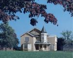 ユーザー定義色のプレハブの鋼鉄家、贅沢なプレハブの家