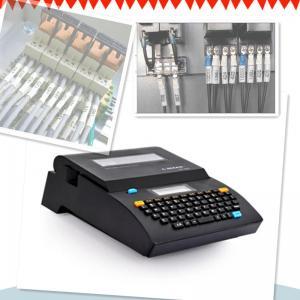 China impressora portátil da identificação do cabo esperto, impressora industrial da etiqueta do fio da identificação on sale