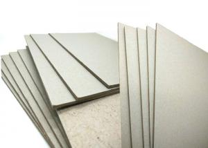 China ONP / OCC Material 600gsm / 1mm Grey Board Gray Cardboard Paper Sheets Hard Stiffness on sale