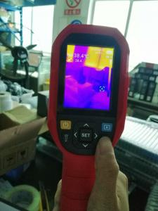 China 500ms Spotting Scope Temperature Measurement Thermal Camera on sale