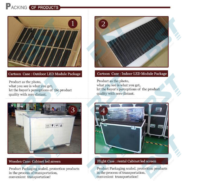 High Brightness P3 Indoor Full Color Led Screen 1R1PG1B For