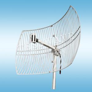 24GHz 24dBi High Gain Die Cast Parabolic Grid Wifi Antenna