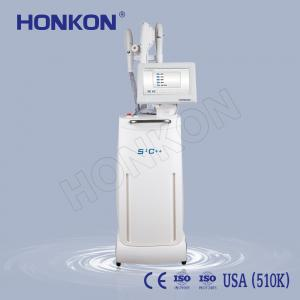 China 4 Handles SHR OPT IPL Hair Removal E Light Skin Tighting Beauty Machine on sale