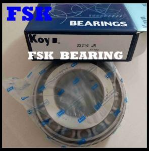 China Metric Size 32316JR , 32220JR Taper Bearing Car Wheel Bearings AISI 52100 Material on sale