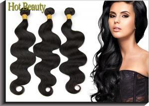 China Smooth And Soft 5A Virgin Brazilian Hair Weave , 5A Remy Brazilian Human Hair Weft on sale