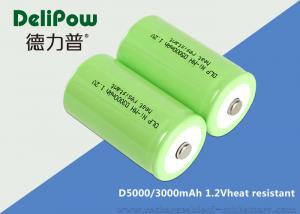 China SGS High Temperature Rechargeable Battery OEM D3000 / 5000mAh on sale