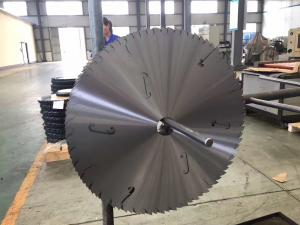 China Wood cutting disc saw tungsten carbide TCT saw blank and steel core on sale