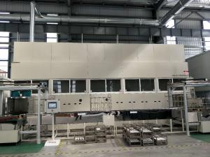 China Injector Precision Spray Metal Coating Line Automatic Loading And Unloading Patented Products can be operated by robots on sale