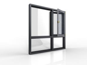 China GAL KPC49 Aluminium Casement Windows,Opening Windows for Residence on sale