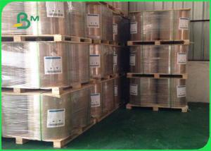 China FSC Certified Glossy Coated C2S Art Paper 115gr 400mm 500mm Paper Roll on sale