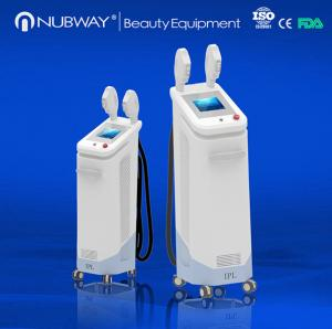 China Fast speed 10 Hz shr hair removal machine with big spot size of 16*50mm on sale