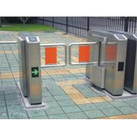 China Pedestrian swing barrier gate for staff and visiting access control on sale