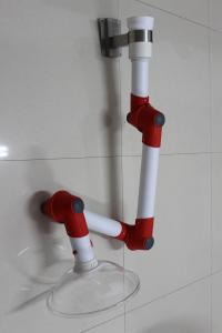 China laboratory use flexible extraction arm, multiple joints fume suction hood arm on sale