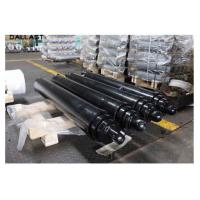 China 6 Inch Bore Welded Dump Trailer Telescoping Hydraulic Cylinder on sale