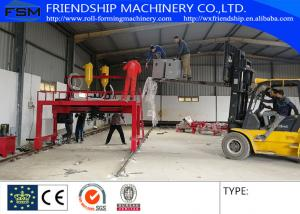 China Semi Trailer Chassis Beam Welding Line Trailer Beam Hydraulic Assembly With Lincoln Electric on sale