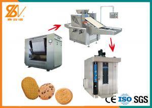 China Model-400 Semi Automatic Pet Dog Biscuit Making Machine With Electricity Oven on sale