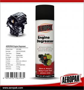 China Aeropak free sample Car cleaning MSDS 400 ml Water-based foaming engine degreaser on sale