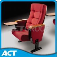 China Luxury Soft Commercial Theater Seating Red Floor Mount Installation For  Auditorium on sale
