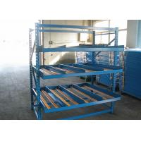 Automatic Gravity Flow Storage Racks , Carton Flow Shelving Customized Size