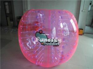 Quality Boule de butoir gonflable colorée de PVC/TPU, ballons de football géants de for sale