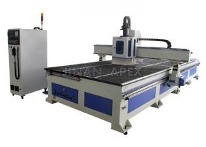 China High Accuracy Cnc Wood Cutting Machine , Leather Cnc Cutting Machine Low Noise on sale