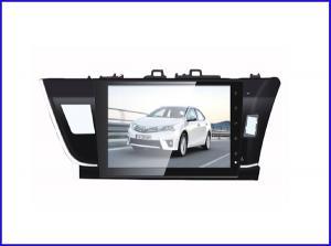 "China 9 "" inch HD 2 din Car gps navigation Toyota corolla with bluetooth/gps/sd/ipod on sale"