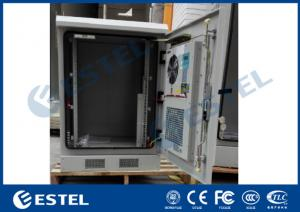 "China Galvanized Steel Outdoor Telecom Cabinet Heat Exchanger Cooling 19""Equipment Rack on sale"