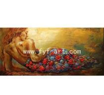 China Canvas Oil Painting,Handmade Painting Art,Decorative Paintings,Landscape Painting on sale