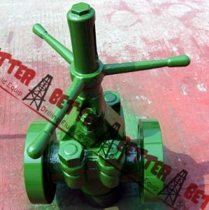 """China BETTER DEMCO DM TYPE MUD GATE VALVE 4"""" 5000PSI, XXH BW, STD,Alloy Steel Body, Equal to Cameron J007420-2522110 on sale"""