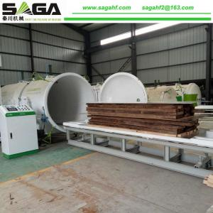 China Microwave Vacuum Dryer For Wood Drying RF Dry Wood Machine From SAGA Machinery on sale