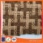 natural woven straw fabric wreath for hats by the yard in paper material