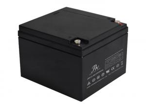China Deep Cycle Lead Acid Battery 12v 26Ah For UPS System / Telecommunication on sale