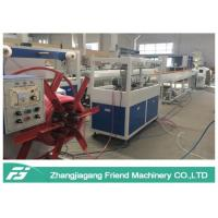 Energy Saving Plastic Pipe Machine Hose Production Line With Single Screw Extruder