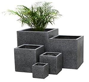 China 2017 Factory sales high quality durable outdoor garden stone flower pot on sale