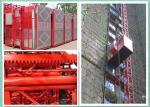 2トンの産業上昇の建築現場のエレベーター、乗客の物質的な起重機の高容量