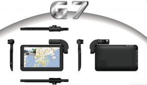 China G7 Waterproof Separate Lens Car GPS Navigator Built DVR Black Box on sale