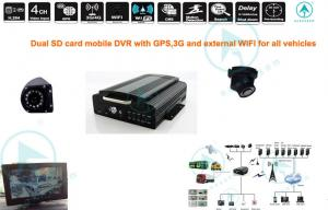 China H.264 3G Wireless SD Card Mobile DVR HDD GPRS EDGE 100 fps / 120fps / 50fps on sale