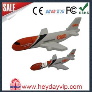 China usb flash drive gift plane usb flash drive in bulk on sale