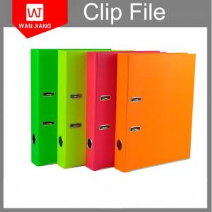 China Customized document box file 2inch 3inch A4 FC lever arch file on sale