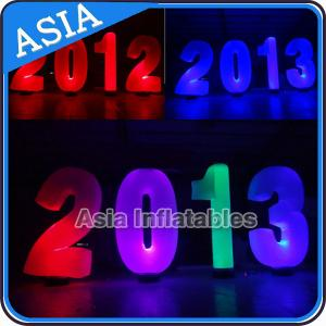 China Inflatable Cone lighting led inflatable alphabet decoration at park or garden on sale