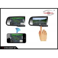 China 3.2 Mega Pixel CMOS Wireless Backup Camera Rear View Mirror Monitor For Cars on sale